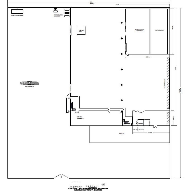 warehouse floor plan